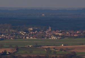 Petworth from the Downs
